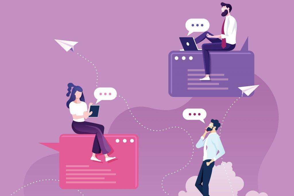 Chat modülü ile personelleriniz kendi aralarında başka program ya da yazılımlara ihtiyaç duymadan anlık olarak mesajlaşabilir.